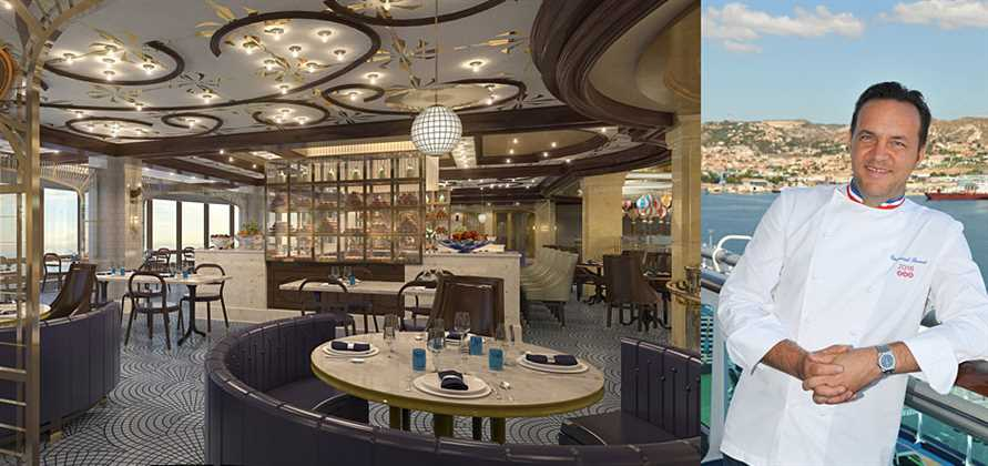 Chef Emmanuel Renaut to create new restaurant for Princess