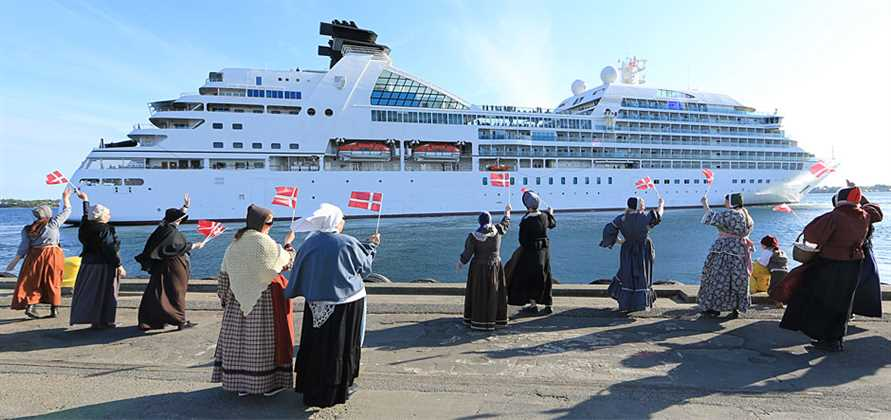 Fredericia set for its largest ever cruise season in 2017