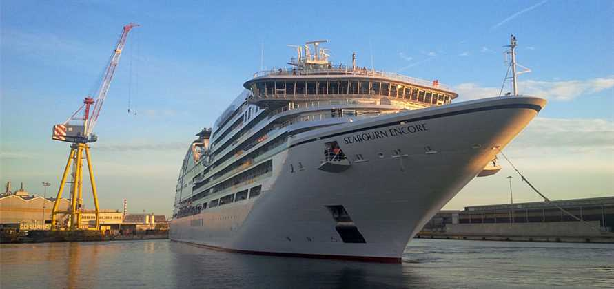 Seabourn Encore completes sea trials in Italy