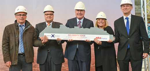 STX cuts first piece of steel for Celebrity Edge