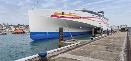 Condor Ferries is triumphing over adversity