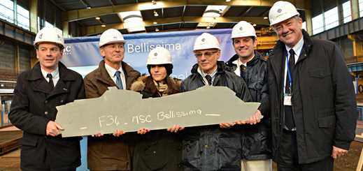 STX France starts work on MSC Bellissima