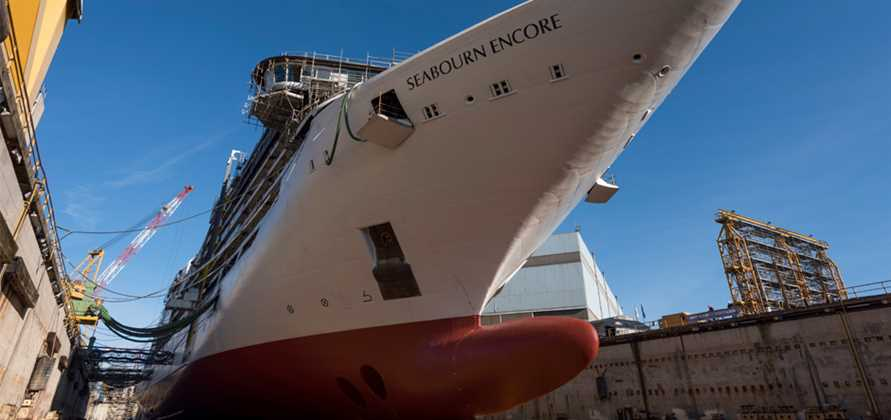 Fincantieri lays keel for Seabourn Ovation