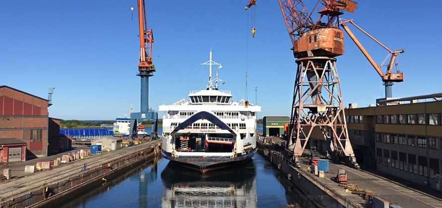 Öresund Dry Docks to modernise HH Ferries' vessels