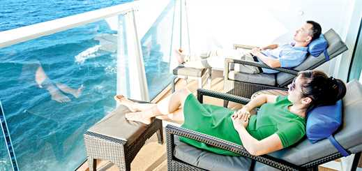 Addressing and alleviating cruise passenger stress