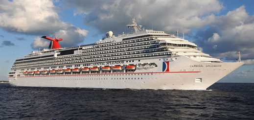 Carnival Splendor to move to P&O Cruises Australia in 2019