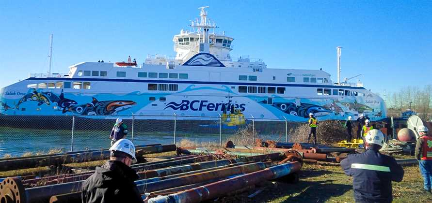 BC Ferries welcomes Salish Orca to British Columbia