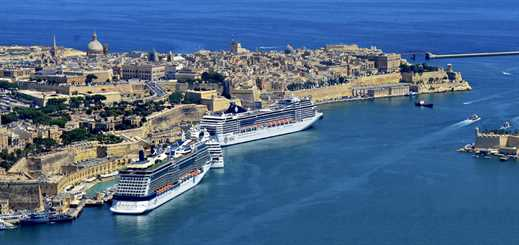 Cruise traffic on the rise in Malta and Gozo