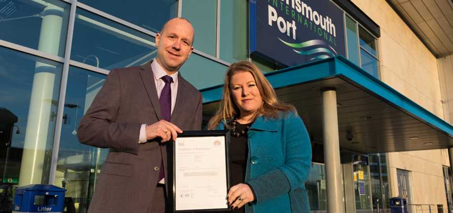 Portsmouth Port transitions to new International Quality Standard