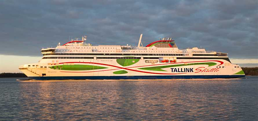 Tallink takes delivery of new LNG ferry Megastar
