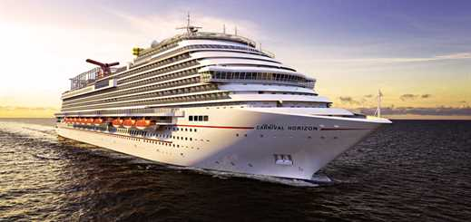 Carnival Horizon to offer Bermuda cruises from New York in 2018