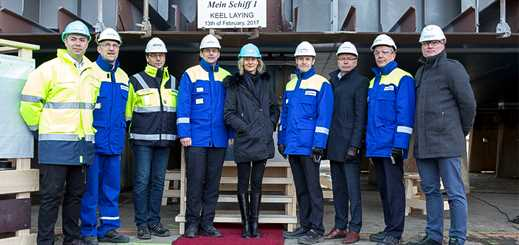 Meyer Turku marks construction milestones for Mein Schiff 1 and 2