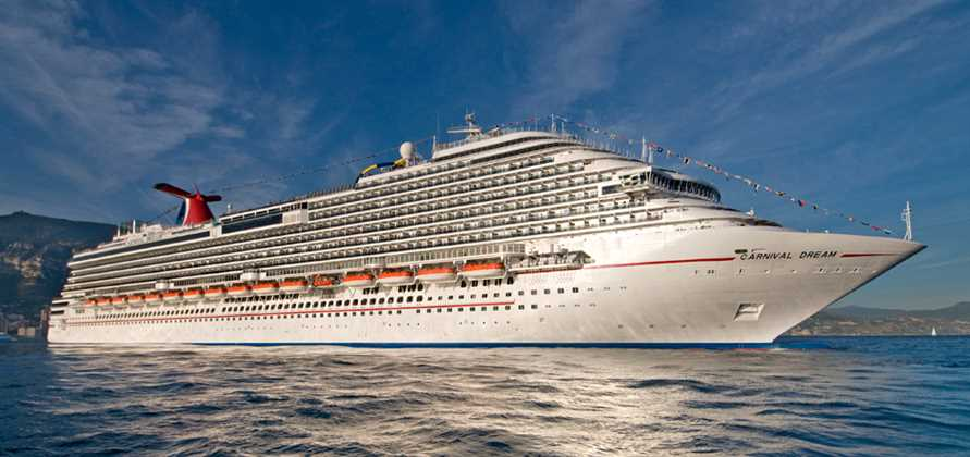 Carnival Dream resumes service with new dining venues