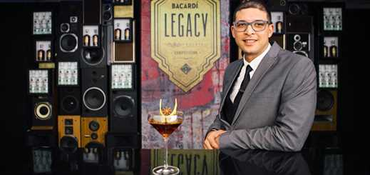 Wade Cleophas wins Bacardi Legacy Cruise Bartender of the Year