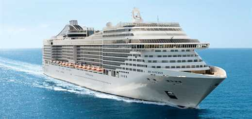 MSC Fantasia earns MED certificate following scrubber installation