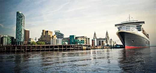 Four architects bid for Liverpool cruise terminal project