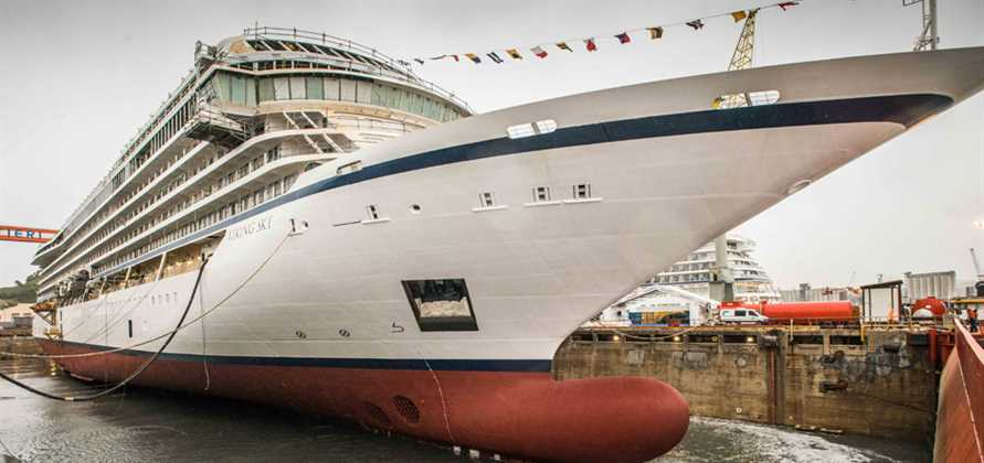 Viking Sky embarks on her maiden voyage to Spain