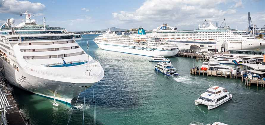 Ports of Auckland celebrates busiest-ever month of cruising