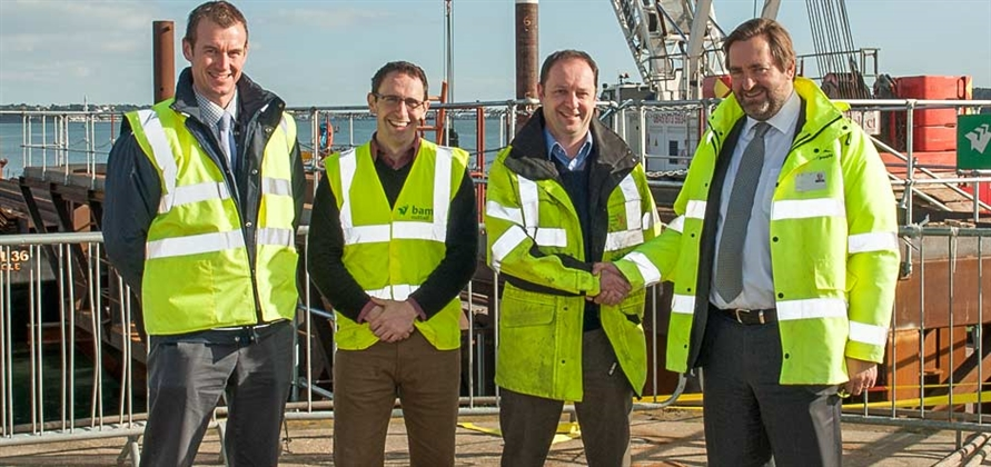Poole Harbour starts building new £10 million pier
