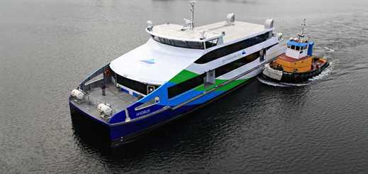 Vigor is to build two passenger ferries for WETA in San Francisco