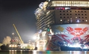 Norwegian Joy leaves Meyer Werft shipyard