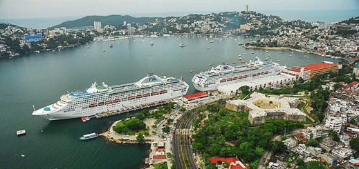 Acapulco to welcome 64% more cruise ships in 2017