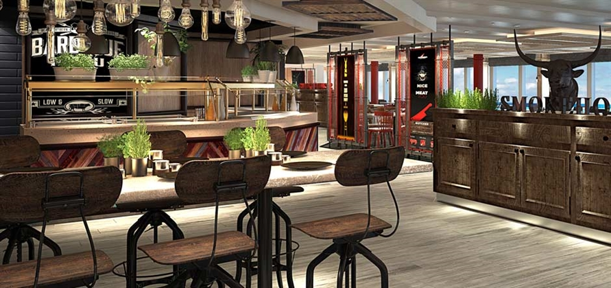 Caribbean Princess to feature seven new and redesigned dining venues