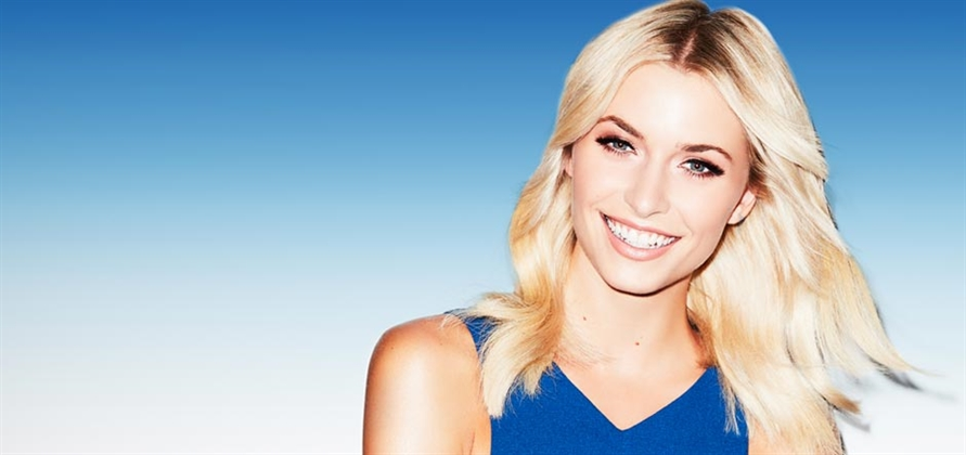 Lena Gercke to christen AIDAperla in Spain this June