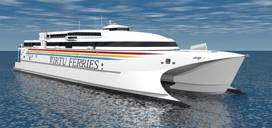 Wärtsilä to provide waterjets for Virtu Ferries' new ferry