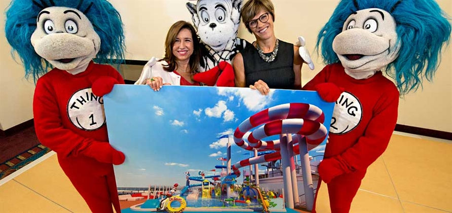 Carnival Horizon to feature first-ever Dr. Seuss WaterWorks