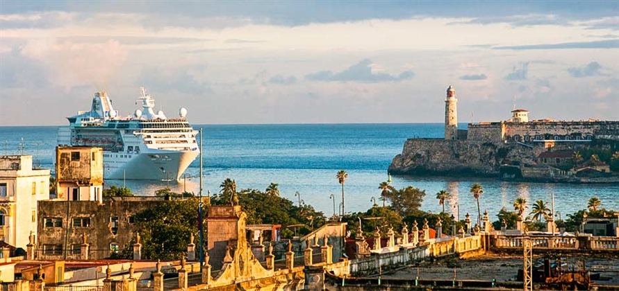Royal Caribbean International makes first cruise call in Cuba