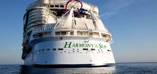 Harmony of the Seas makes maiden call in St. Kitts