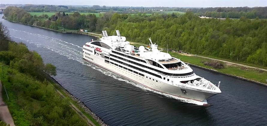 Port of Kiel welcomes Le Soléal for the first time