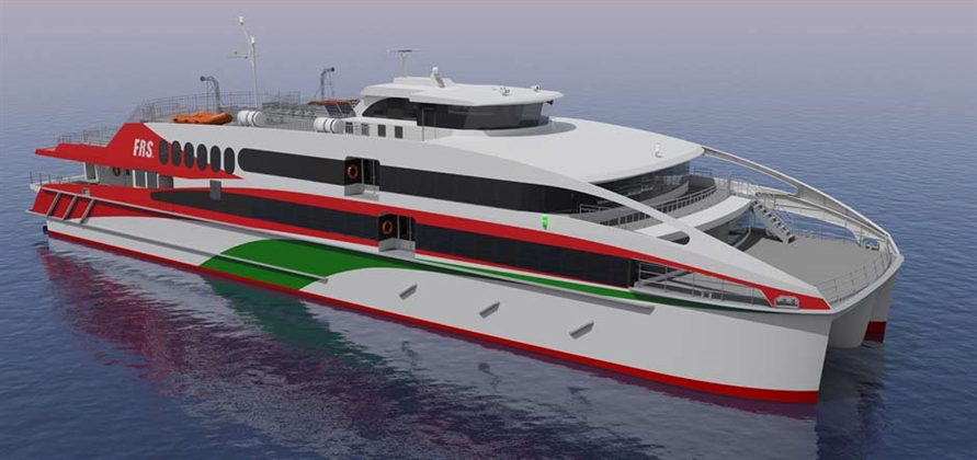 FRS orders new high-speed ferry for Hamburg to Helgoland route