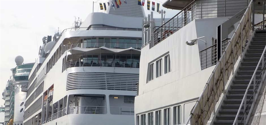 Record weekend of cruise operations for SCH and CPS in Southampton