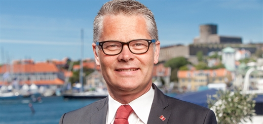 Taking the helm at Stena Line