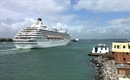 Crystal Symphony makes records at Portsmouth International Port