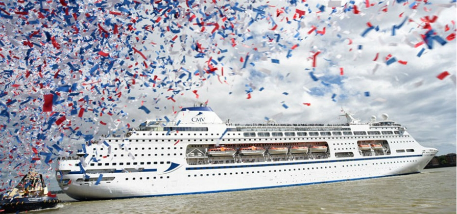 Cruise & Maritime Voyages christens Columbus in London