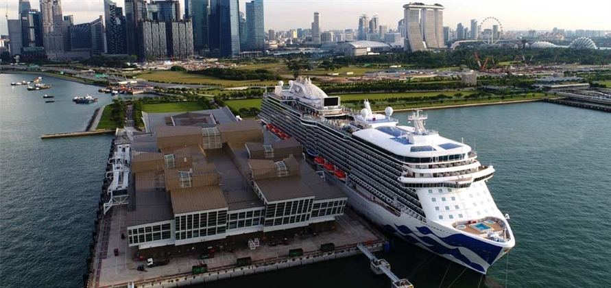 Majestic Princess makes maiden call to Penang and Singapore