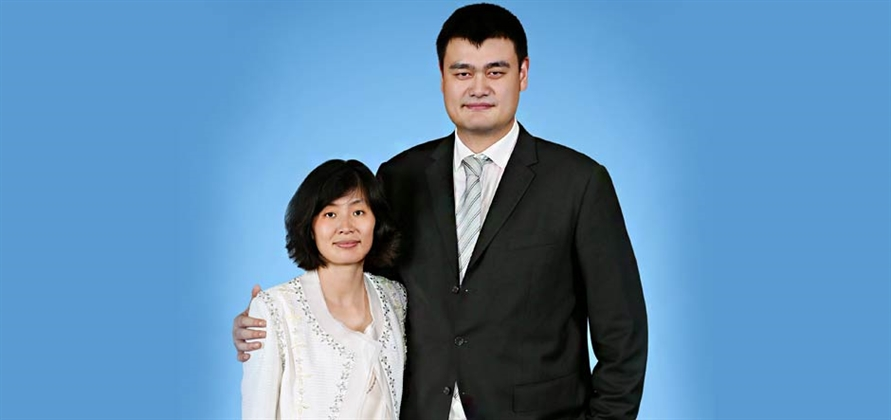 Basketball stars Yao Ming and Ye Li to christen Majestic Princess