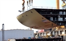 Celebrity Edge takes shape at STX France shipyard