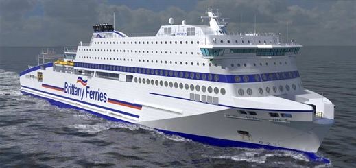 Brittany Ferries confirms order for new LNG passenger ferry