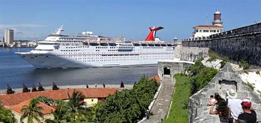 Carnival Cruise Line makes inaugural call in Cuba