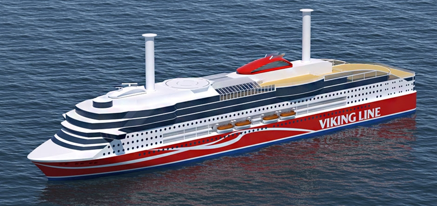 Deltamarin secures contract for Viking Line's new LNG ro-pax ferry