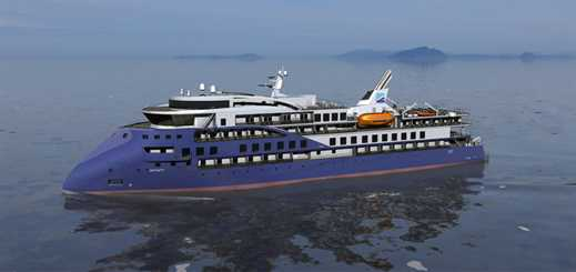 Brunvoll signs expedition ship deal with Ulstein Design & Solutions