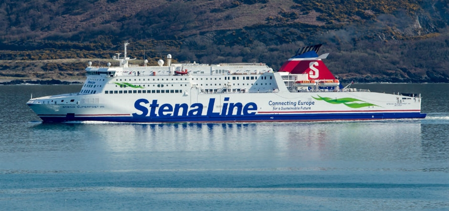 Stena Line records 4% rise in passenger numbers on Belfast routes