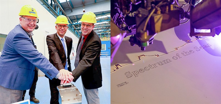 Royal Caribbean to name Quantum Ultra class ship Spectrum of the Seas