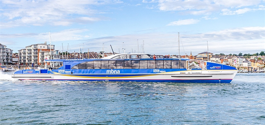 Wight Shipyard Co delivers second MBNA Thames Clippers ferry