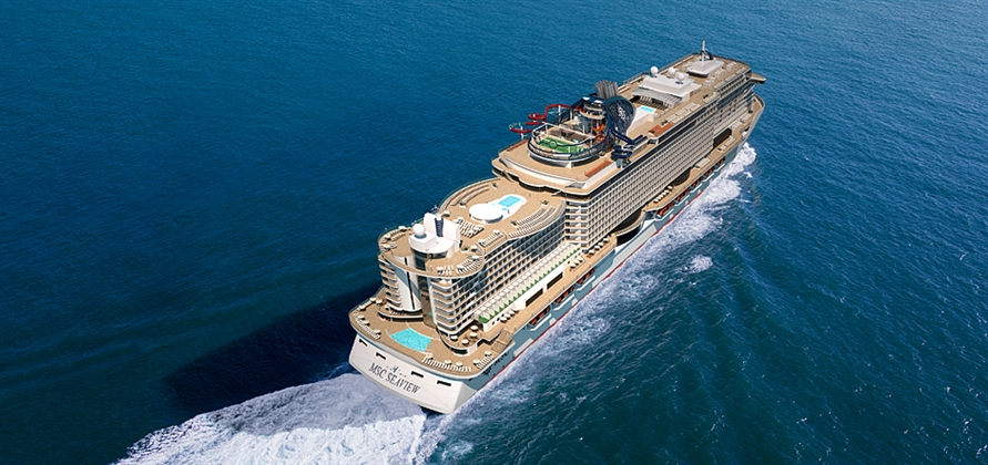 Fincantieri and MSC Cruises celebrate float out of MSC Seaview
