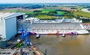 World Dream floats out at Meyer Werft yard in Germany